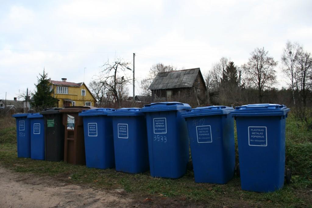 rūšiavimo konteineriai Veisiejuose
