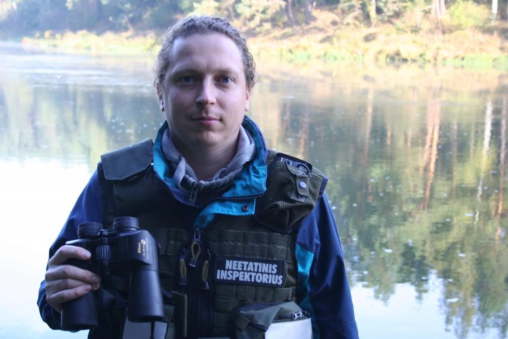 Laurynas Okockis - Neetatinis aplinkos apsaugos inspektorius
